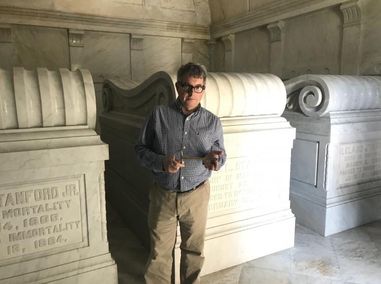 Mark Dion in Mausoleum