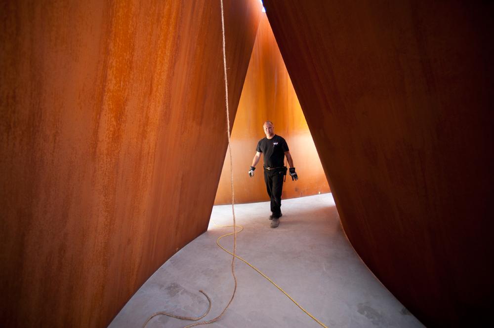 Richard Serra's Sequence Returns | Cantor Arts Center