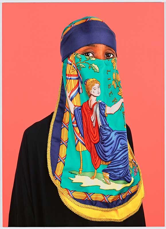 Wesaam Al-Badry's 'Hermes #V' from the upcoming Cantor Arts Center exhibit, 'Paper Chase'