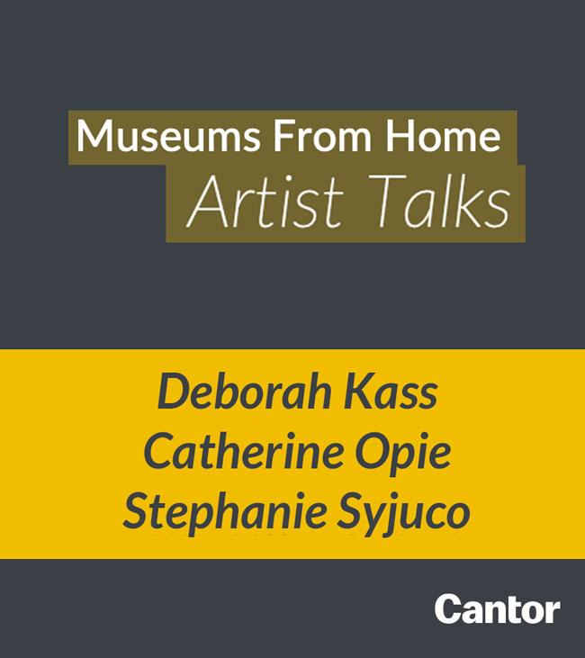 An image of the Museums From Home Artist Talks