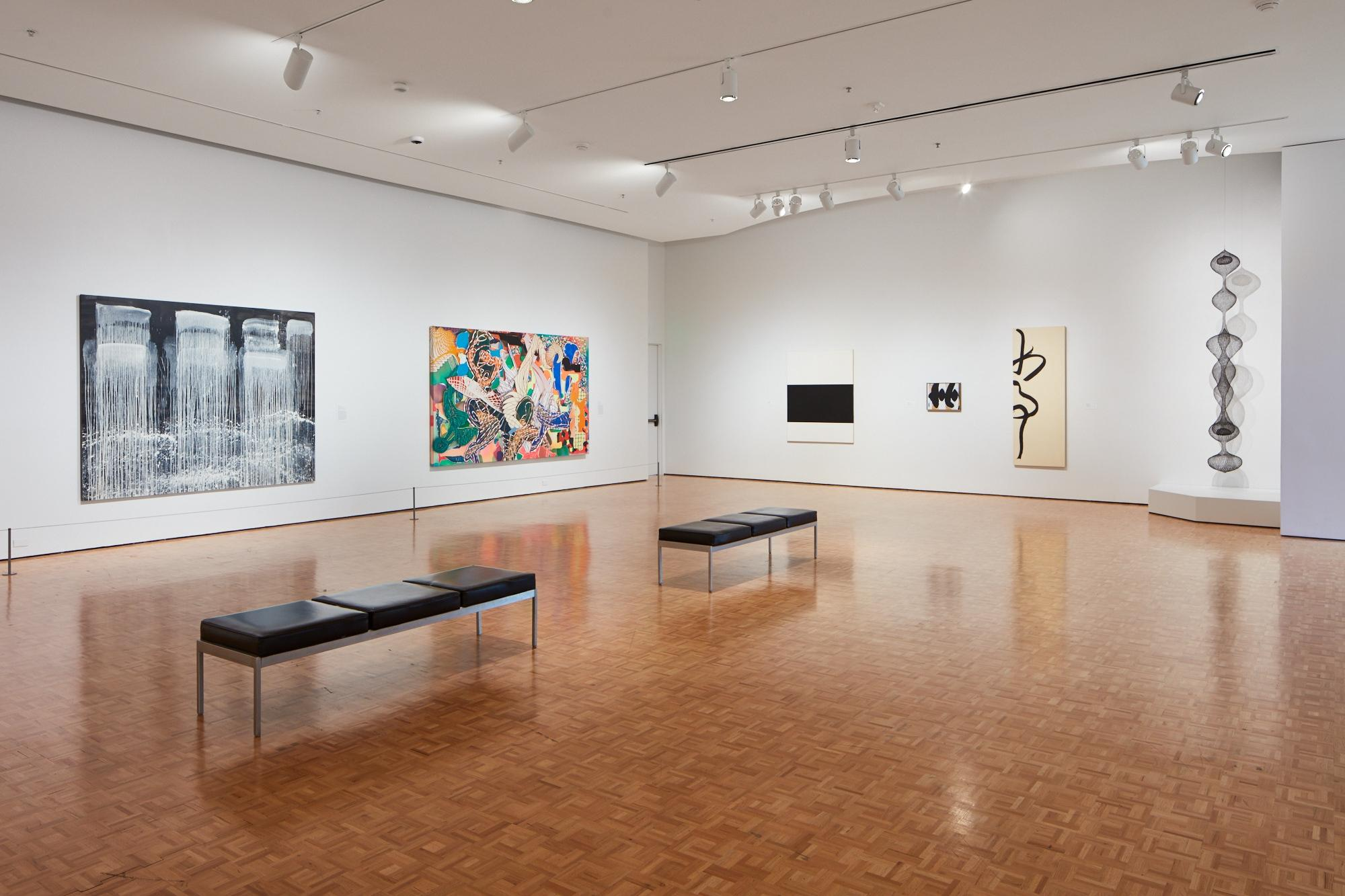 A gallery view of the Cantor Arts Center